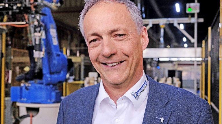 Zufrieden: Werkleiter Christian Metzger.