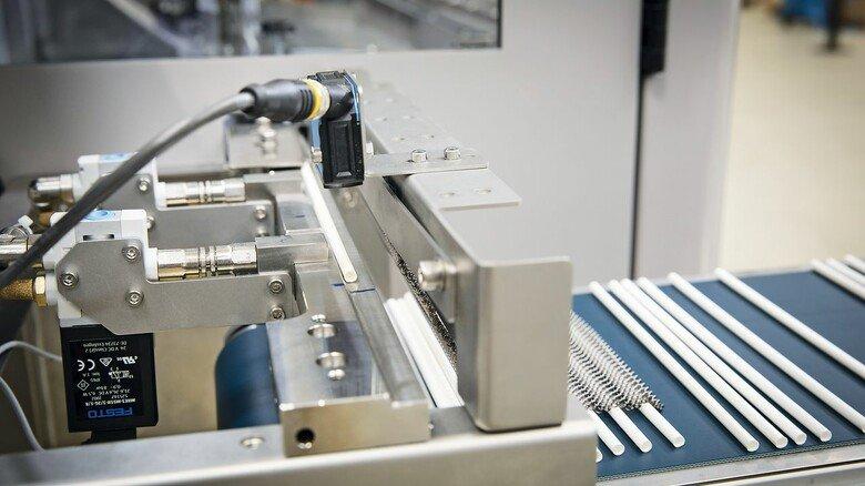 Komplex: Die Konstruktion der Maschinen war eine echte Herausforderung für die Hauni-Ingenieure.