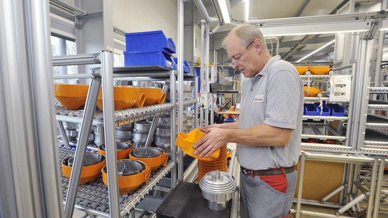 Etwa 65.000 Geräte werden hier pro Jahr hergestellt.